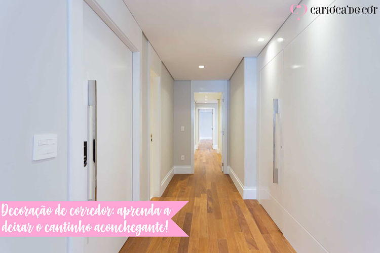 decoração de corredor