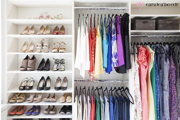 guarda roupa setorizado