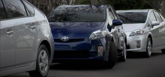 prius com estacionamento automático