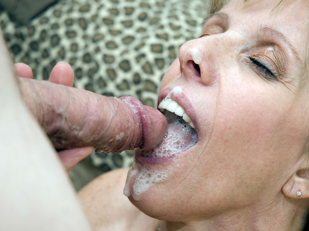 What words..., big mouthful of cum are not