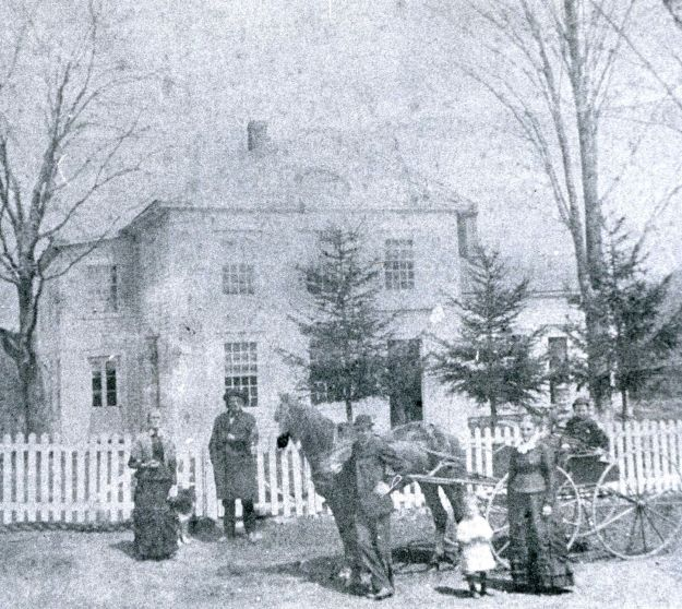 Hall Farmhouse around 1870