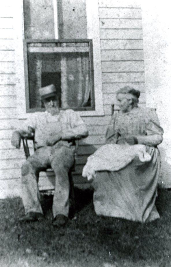 Lydis and William Hall, around 1900