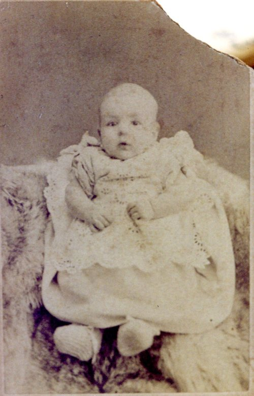 Agnes Maud Biggs, six months old