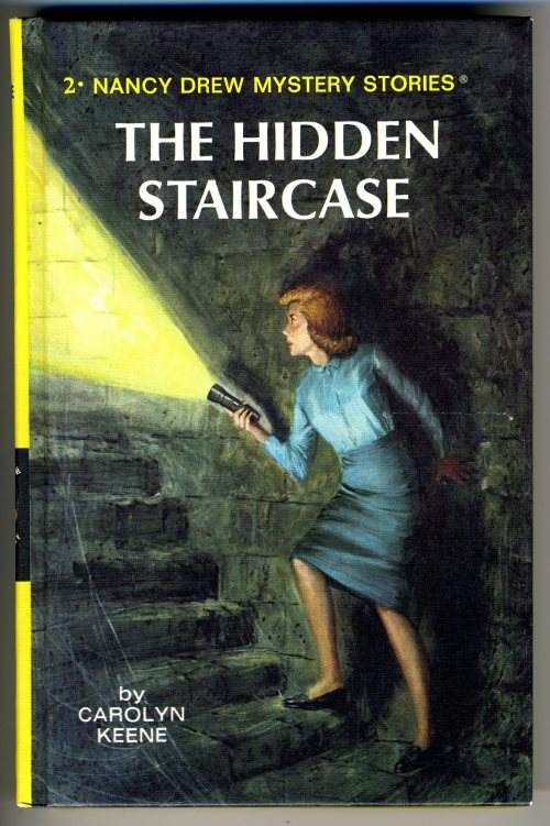 "Cover of ""The Hidden Staircase"" by Carolyn Keene"