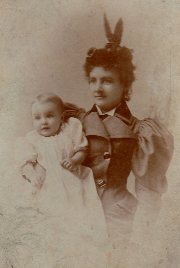 Hattie and William Cannon, 1894
