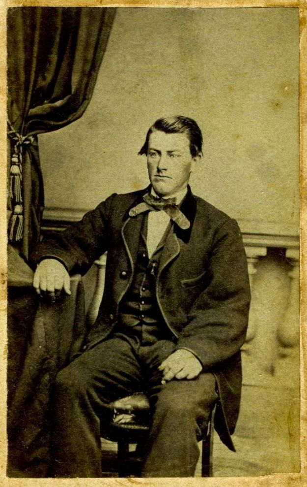 William E. Hall as a young man