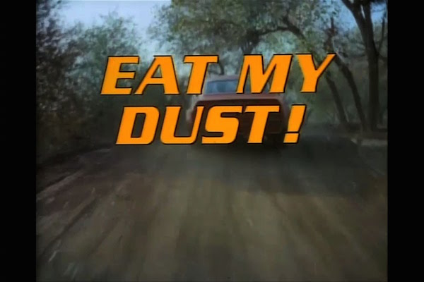 #TBT: Eat My Dust!