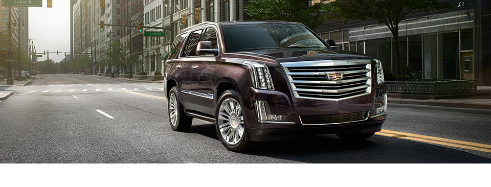 Live It Up in the Cadillac Escalade