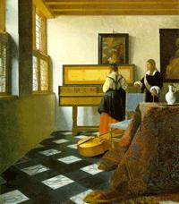 Vermeer, Lezione di musica