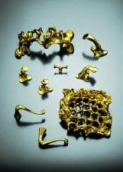Maniglie per porte, ottone lucidato, The Gaudì collection, Bd