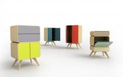 Di Sasa Mitrovic, Matrioshka è il sistema di contenitori in legno (armadi, cassettiere, madie) che si possono disporre negli ambienti o inserire l'uno nell'altro. Prodotto da Creative Space Serbia, l'agenzia governativa serba.
