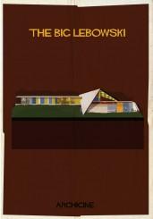 Federico Babina, poster per il film Il grande Lebowski di Joel Coen