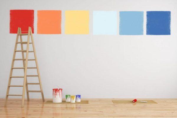 Imbiancare casa da soli: come calcolare la quantità di pittura