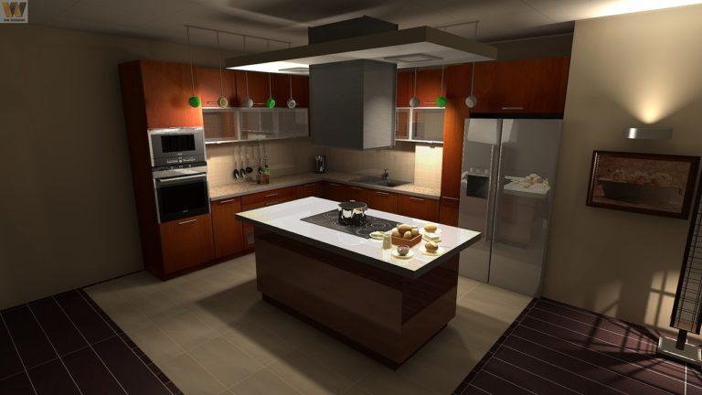 L illuminazione della zona di lavoro in cucina cucina luci led
