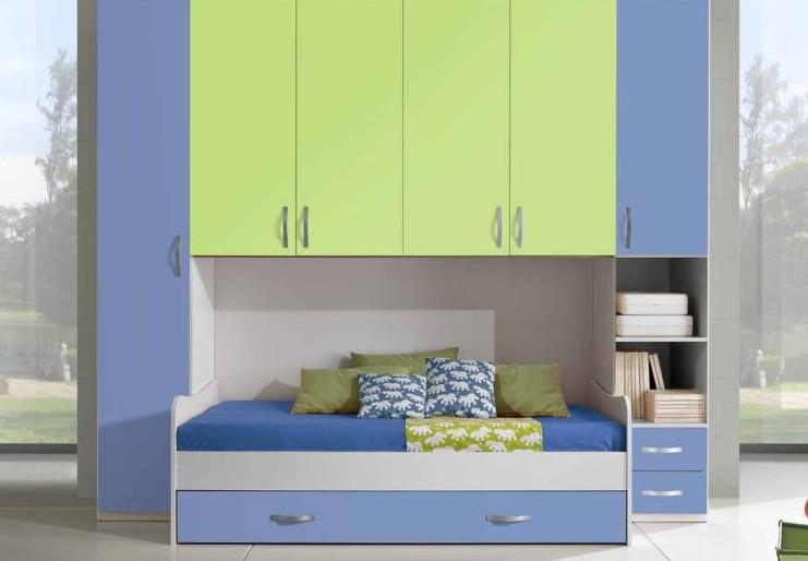 Camerette a ponte per bambini soluzioni salvaspazio casanoi blog - Soluzioni salvaspazio camera da letto ...