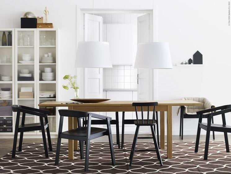 Come abbinare tavolo e sedie casanoi blog - Tavolo sedie ikea ...