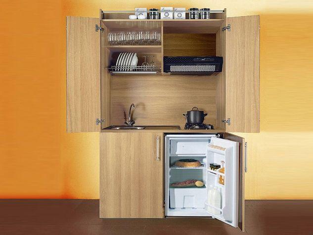 Mini cucine per monolocali: dalle cucine monoblocco alle cucine a ...