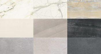 Piastrelle di grande formato Maxfine di FMG fabbrica Marmi e Graniti