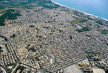 cessione di cubatura Napoli vista aerea