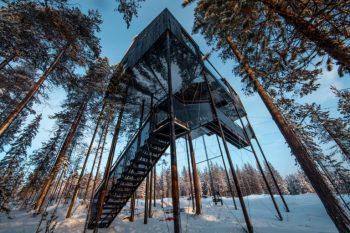 La casa sull'albero 7th Room di Snøhetta