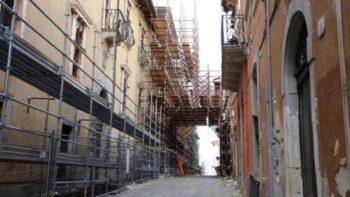 intervento di ricostruzione privata post sisma
