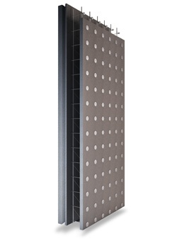 come isolare pareti interne materiali diversi a confronto. foto di un pannello di polistirene espanso il comune polistirolo