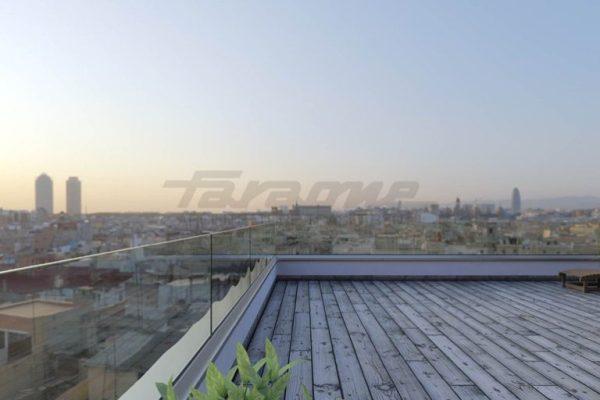 Balaustre in vetro per balconi terrazzi scale FOTO Balaustra Ninfa di Faraone