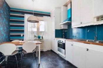 La casa che non fa ingrassare cucina colori freddi