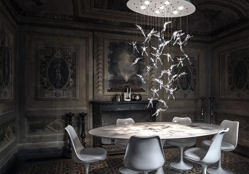 Come illuminare il tavolo da pranzo casanoi