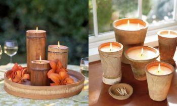 profumare la casa FOTO candele profumate