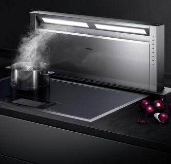 Cappa da cucina: la potenza di aspirazione foto Cappa da piano Gaggenau