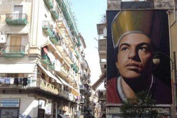 Murale di Jorit dedicato a San Gennaro