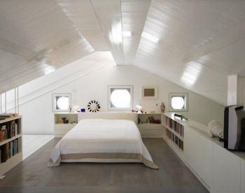 usufruire dell'ecobonus per il sottotetto: mansarda camera da letto