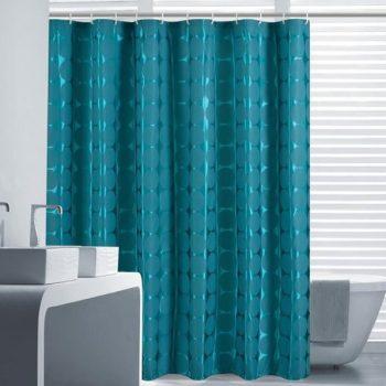 nascondere i sanitari in bagno con una Tenda impermeabile