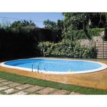 Piscine prefabbricate semplici da installare piscine per giardino terrazzo senza lavori in muratura FOTO Piscina in acciaio Zavatti Shop