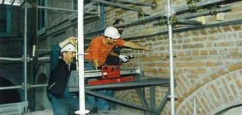 Intervento di restauro compiuto dalla ditta Cingoli