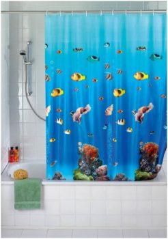 tenda alternativa al box doccia: Tenda per doccia I Love Casa