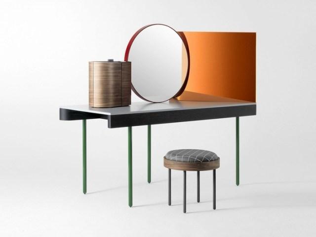 toilette mobile moderno per trucco: Chandlo di Barcelona Design