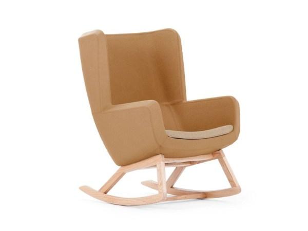 sedia a dondolo moderna: Arca di True Design
