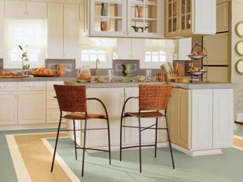 pavimenti in linoleum : foto cucina con linoleum EcoSeledil