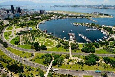 Rio de Janeiro capitale architettura 2020, foto Aterro de Flamengo