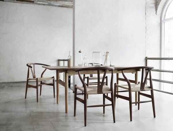 sedia wishbone chair, arch. Wegner Wishbone Chair versione classica