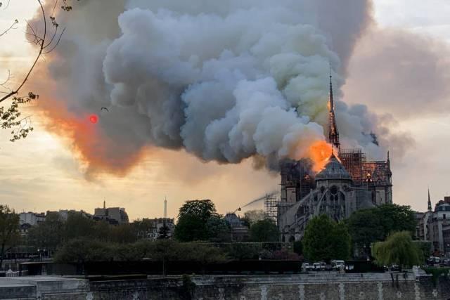 Incendio Notre Dame, cattedrale di Parigi