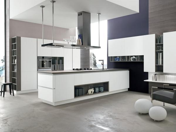 Realizzare cucina da chef in casa: FOTO Cucina a isola Stosa