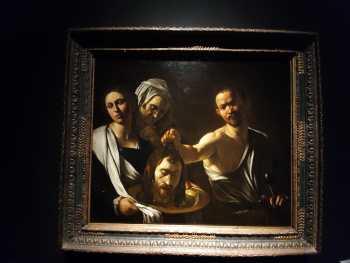 Salomè con la testa del Battista (foto arch. Granata)