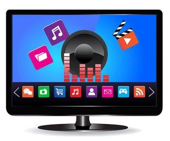 la TV di casa ibrida con lo standard HbbTV