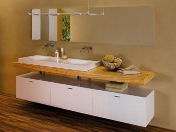 Sanitari in metallo per il bagno: Lavabo doppio in acciaio smaltato Bettebowl di Bette