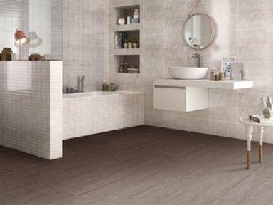 per rinnovare bagno senza ristrutturare: Pavimento vinilico adesivo Iperceramica