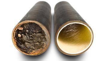 sistema relining per riparare e pulire le tubazioni di impianto idrico o fognario