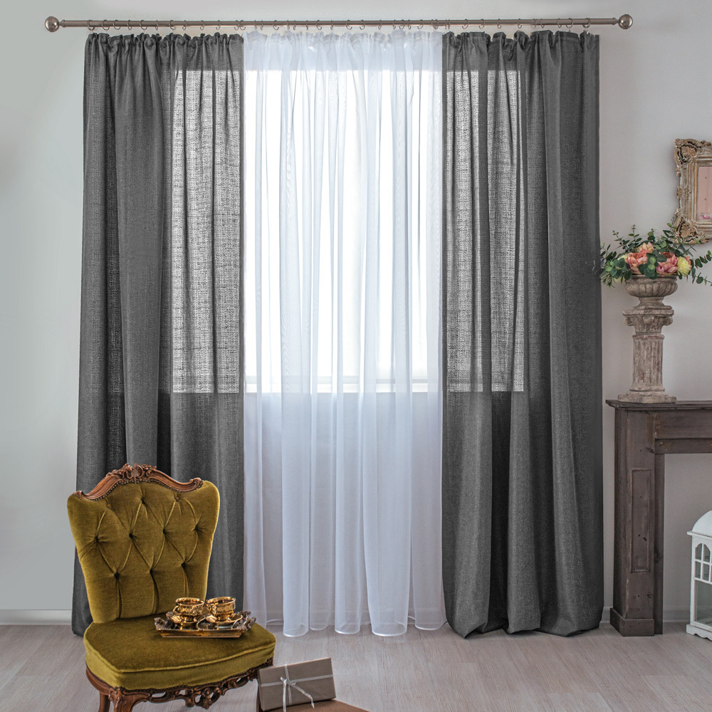 Idee Tende Da Salotto living room curtains: ideas and advice - blog casaomnia